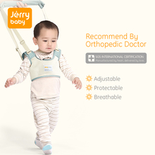 Jerrybaby Baby Walker Toddler Leash Safety Harness Children's Reins Baby Walking Assistant Wings For Baby Belt Baby Ceinture