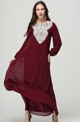 1 шт./лот Бесплатная доставка традиционные мусульманская женская одежда моды Абая исламской для женщин длинное платье Кружева Свободные пл...