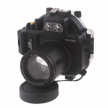 Meikon 40M Waterproof Underwater Camera Housing Case Bag for Olympus E-M5 (12-50mm)