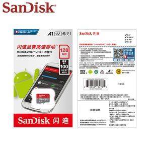 Image 5 - 100% オリジナル sandisk マイクロ sd カード Class10 tf カード 16 ギガバイト 32 ギガバイト 64 ギガバイト 128 ギガバイト 400 ギガバイト 100 メガバイト/秒メモリカードのため samrtphone とタブレット pc