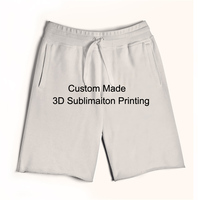 Custom Create Your Own 3D Sublimation Print Jogger Basketball Shorts REAL USA SIZE