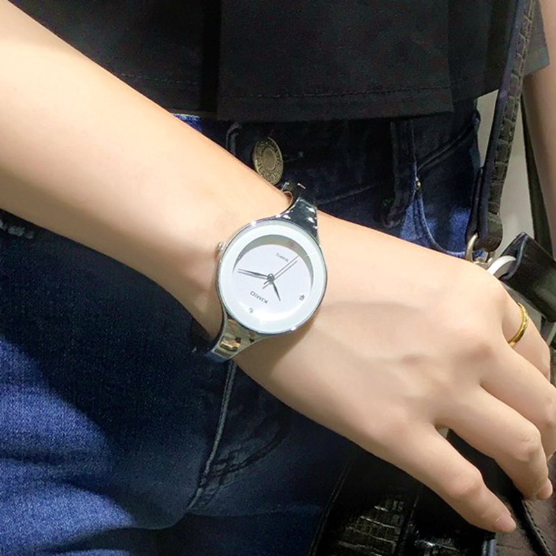 Kimio Relojes mujer Wristwatch Bracelet Quartz watch Woman Ladies Watches Clock Female Dress Relogio Feminino K2682 high quality sound and light control switch delay 60s sensor switch 220v ac 50hz 60w 25w 5w 95db 75db free shipping