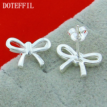 Wholesale 925 Sterling Silver Earrings For Women, Charm Woman Jewelry Free Shipping