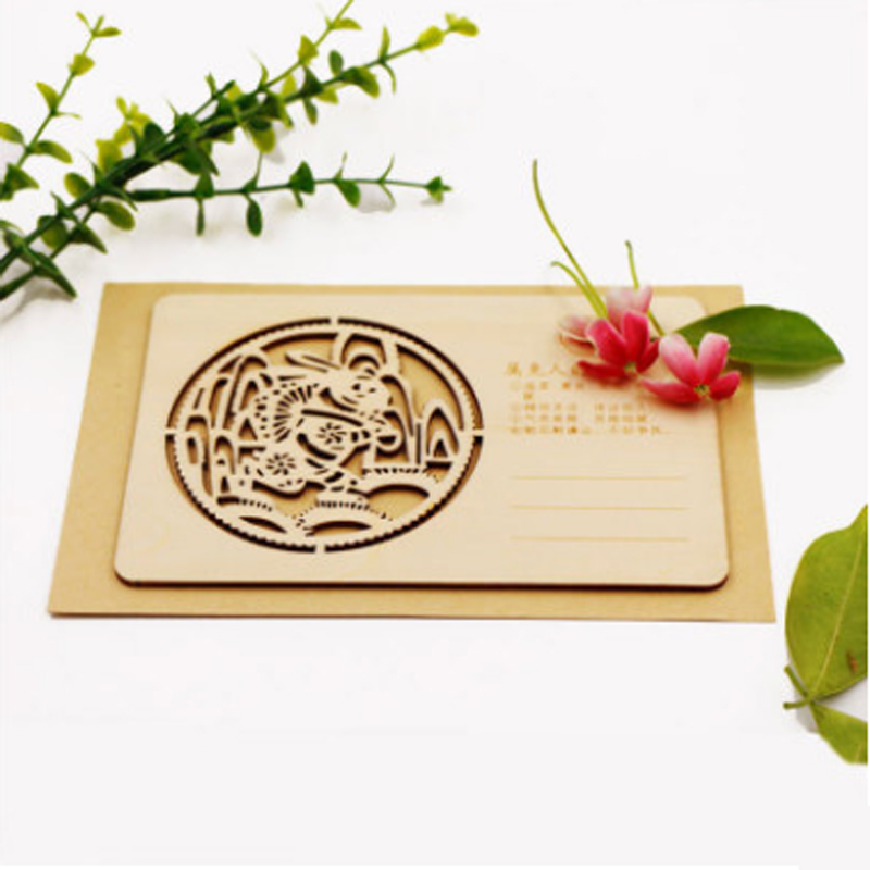 Laser cutting plywood mdf laser cutting machine cut wedding invitation card 6090 6040 brooklyn bridge landmark building 3d pop up greeting card laser cutting dies envelope hollow carved handmade kirigami gifts