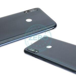 Image 5 - الأصلي ل آسوس Zenfone ماكس برو M2 ZB631KL عودة الإسكان غطاء باب البطارية PC البلاستيك + الجانب مفتاح eplacement إصلاح قطع الغيار