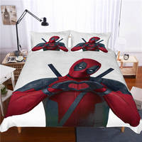 Deadpool Bed Set Covers and Pillowcases (8 Different Designs) 4