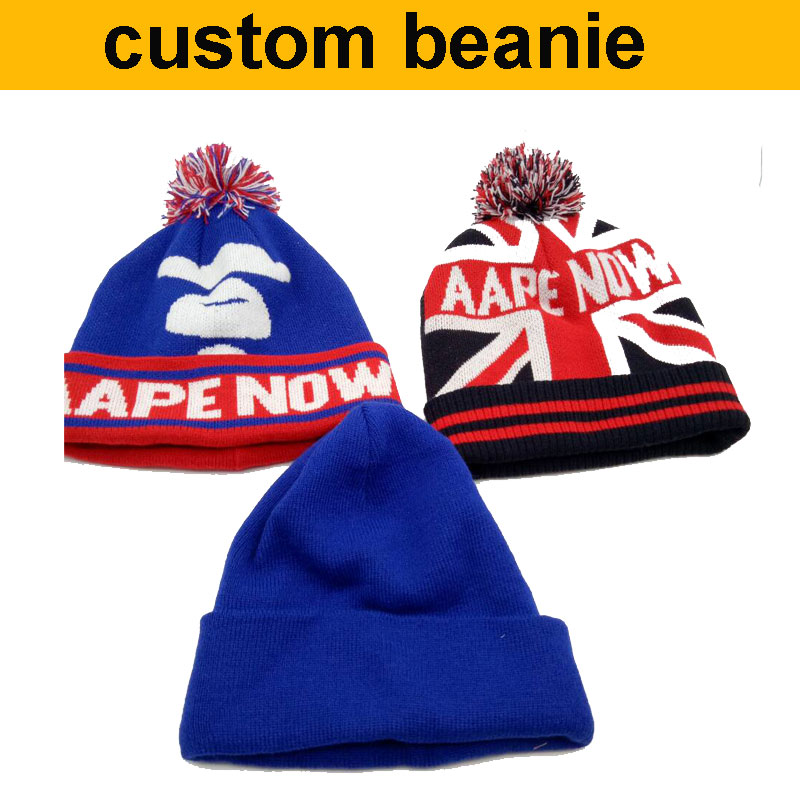 factory wholesale 50pcs!50%-60% discount shipping cost!custom beanie hat,logo beanie custom hats winter make your design  цены
