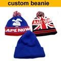 factory wholesale 50pcs!50%-60% discount shipping cost!custom beanie hat,logo beanie custom hats winter make your design