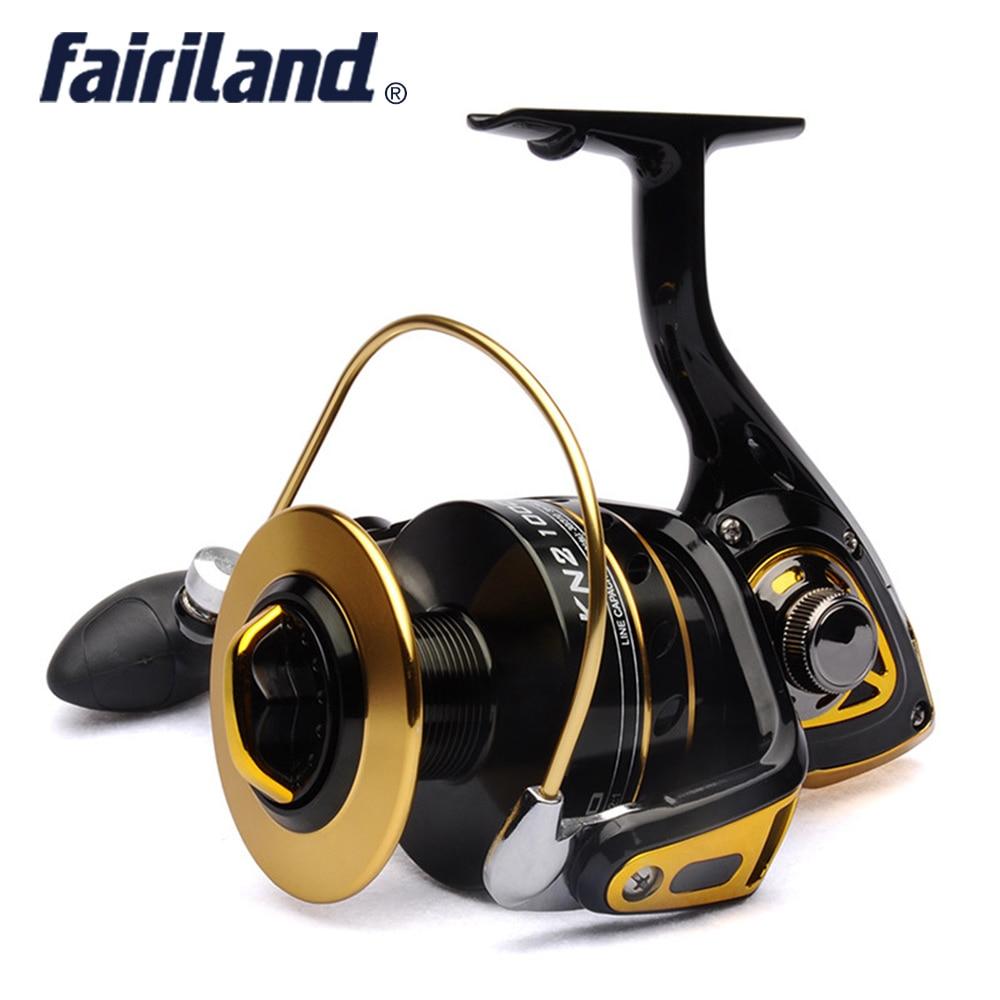 Fishing spinning reel BANDO KN2 10000 big game reel 10 1BB front drag offshore fishing equipment