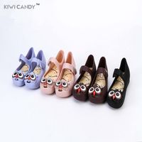 Mini Melissa 5Color Owl Children S Shoes Jelly Sandals Girls Princess Shoes Melissa Children Shoes Girls