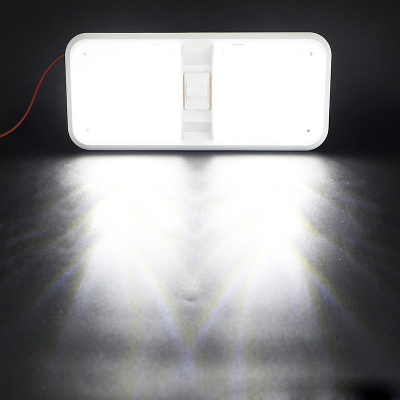 Image 5 - 18LED Car Interior Dome Light Ceiling Lamp LED Reading Light for 12V Marine Yacht RV Camper Motor Home-in RV Parts & Accessories from Automobiles & Motorcycles
