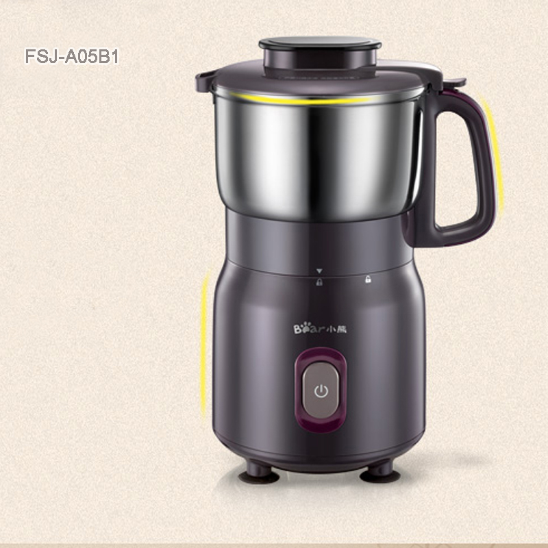 Household Small Electric Coffee Grinder Stainless Steel Electric Blender FSJ-A05B1 cukyi household electric multi function cooker 220v stainless steel colorful stew cook steam machine 5 in 1
