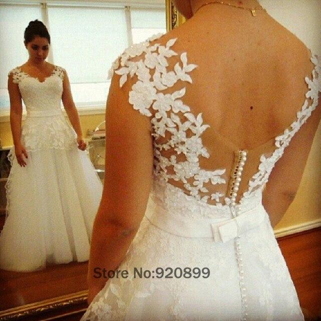Einfache Brautkleider Indian Summer Tüll Spitze Brautkleider Boho ...