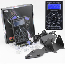 Gratis frakt Professional Hurricane Digital DUAL Black Tattoo Power Supply