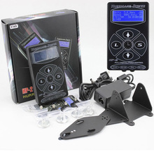 Free Shipping Hurricane Professional Digital DUAL Black Tattoo Power Supply