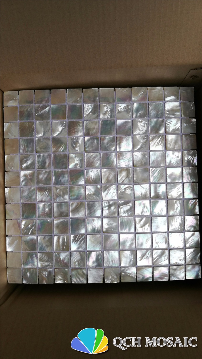 Whitelip mother of pearl mosaic tile for kitchen backsplash and bathroom 5pcs/lot 25x25chip size qch135 free shipping wave pattern 100% natural penguin shell and chinese freshwater shell mother of pearl tile wall tile