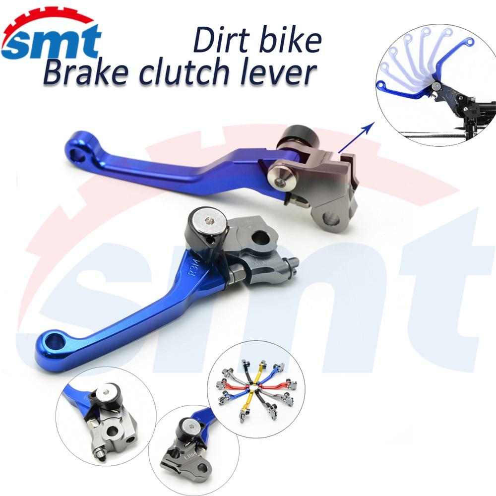 For HONDA CR250R CR250 R 92-03 93 94 95 96 97 98 99 00 01 02 Dirt Bike FLEX Pivot Brake Clutch Lever clutch brake levers blue