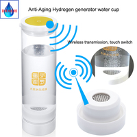 Hydrogen generator Japanese craftsmanship Hydrogen rich water electrolyzation water for H2 600ML Wireless transmission