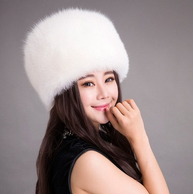 High quality New russian style fur hats fox fur hat womens winter faux fur  warm hats 91affb95ef9