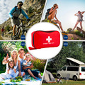 in srtock ! First Aid Emergency Kit Tool For Car Home Medical Camping Office Travel