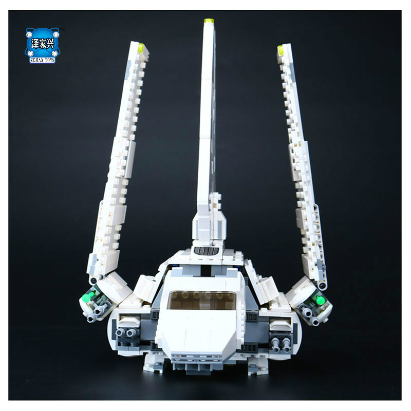 New Lepins 937Pcs Star space War The Shuttle Set Model Building Kit Blocks Bricks Toy Compatible With Christmas Gifts new 1048pcs building blocks children lepins education toy baby gifts the spasskaya tower of moscow kremlin model building blocks