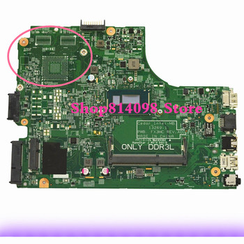 High quality Laptop Motherboard FIT For DELL 3542 With 3805U @ 1.90GHz CPU 13269-1 PWB:FX3MC 0R0R20 Mainboard 100% Tested