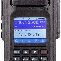 dual band vhf uhf RETEVIS Ailunce HD1 Dual Band DMR דיגיטלי מכשיר הקשר (GPS) 10W VHF UHF IP67 תחנת רדיו חובב Ham Waterproof אביזרים + (5)