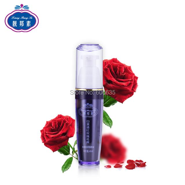 Envío gratis LiangBangSu rosa agua, loción de blanqueamiento skin toner 40 ml