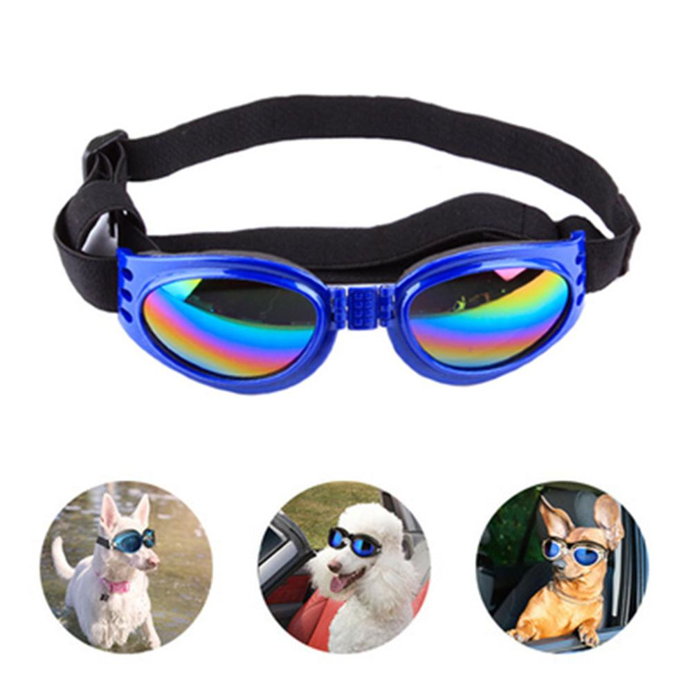 Foldable Pet Dog Sunglasses Pet Eyewear Dog Protective Goggles UV Sunglasses 6 Colors Cool Dog Eye Protective Sunglasses