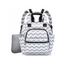 Casual stripe new insulation Mummy bag out storage bag large capacity nylon waterproof multi-function baby stroller care bag mummy multifunction baby care food thermal insulation storage case large capacity handbag hanging baby stroller accessories