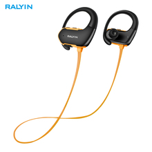 Ralyin M8 Wireless Headphone Bluetooth 5.0 Earphone 220mAh Battery IPX7 Waterproof for xiaomi iPhone Sport Headset with Mic