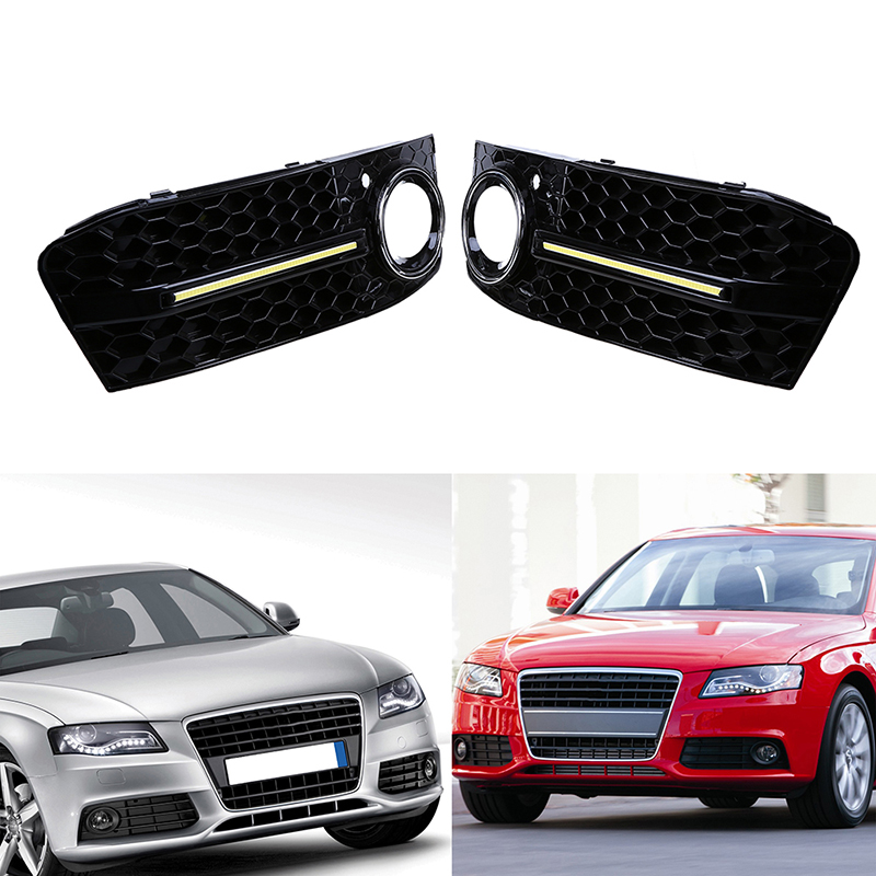 car exterior accessories 1 pair car right left side grills auto car front racing 10151