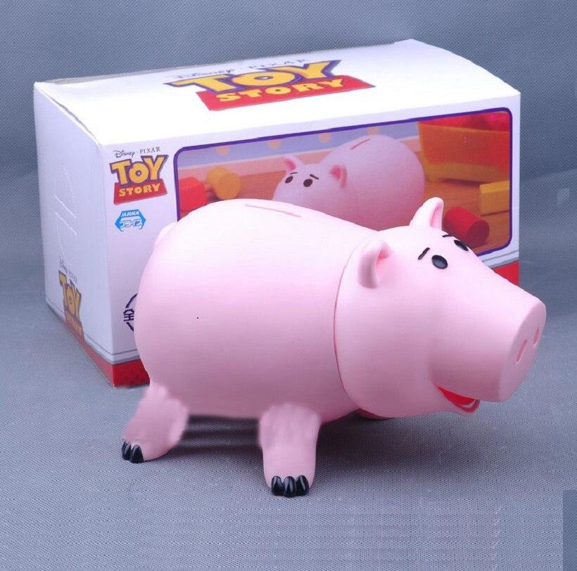 20 cm Toy Story 3 Hamm tirelire Cochon Rose Mignon Jouet Tirelire PVC Collection jouets tirelire avec boîte Au Détail
