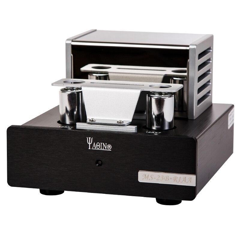 YAQIN MS-23B MM RIAA Phono Stéréo Tube Pré-Amplificateur