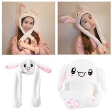 Новинка волшебный кролик шляпа с движущимися ушами плюшевые игрушки подарок детские игрушки вечерние Photo-m20
