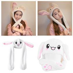 Новинка волшебный кролик шляпа с движущимися уха плюшевые игрушки подарок детям игрушки вечерние Photo-m20
