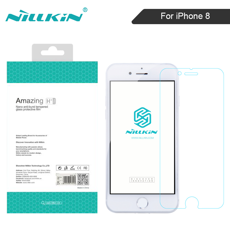 NILLKIN for iphone 8 screen protector Amazing H/H+PRO 9H Film for iphone 8 tempered glass screen protector 4.7 inch for iphone8
