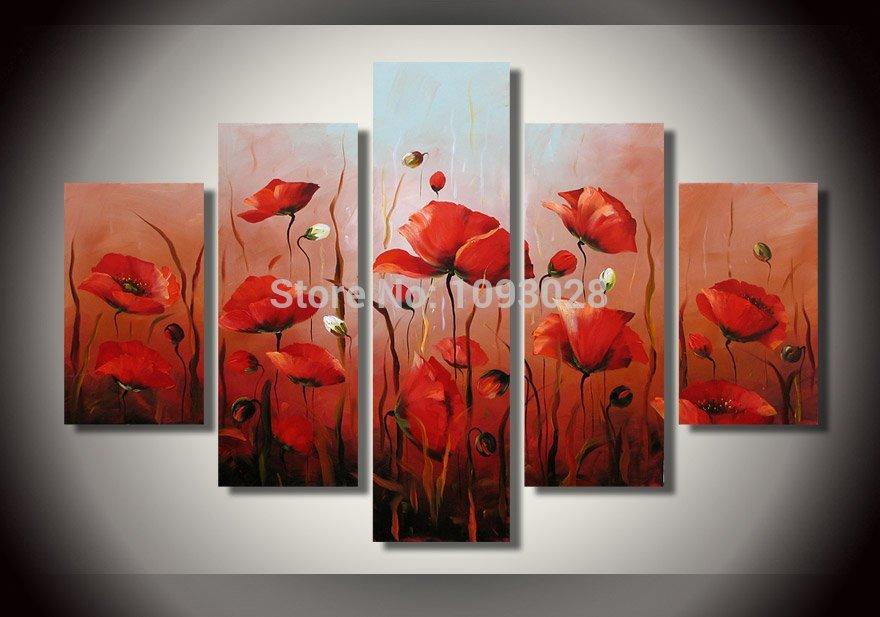 Online Get Cheap Paars Olieverfschilderijen -Aliexpress.com ...