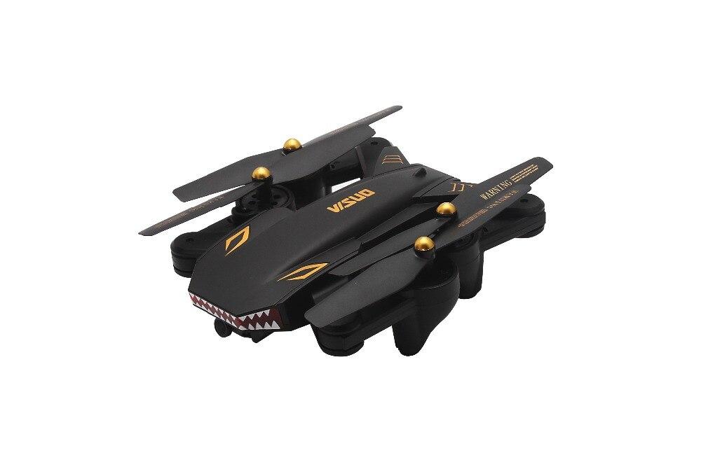 Drone pliable VISUO XS809S de haute qualité avec caméra HD WiFi FPV XS809HW mis à niveau Mini-hélicoptère quadrirotor RC