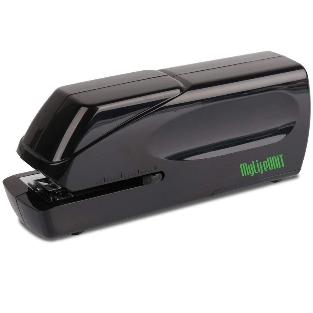 Electric Stapler, Heavy Duty Electric Stapler, 20 Sheets (Black)