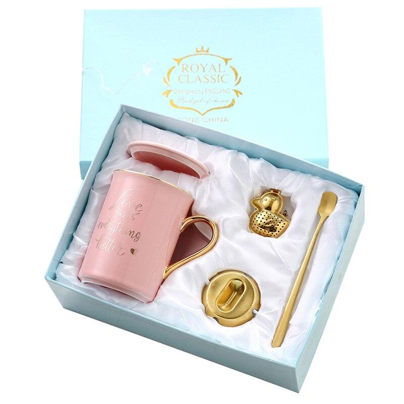 2019 New Royal Ceramic Coffee Mug Milk Tea Cup Creative ...