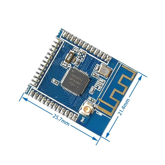 NRF52832 Bluetooth Module BLE 4.2 Low Power Bluetooth External Antenna IPEX Support Multi-Protocol