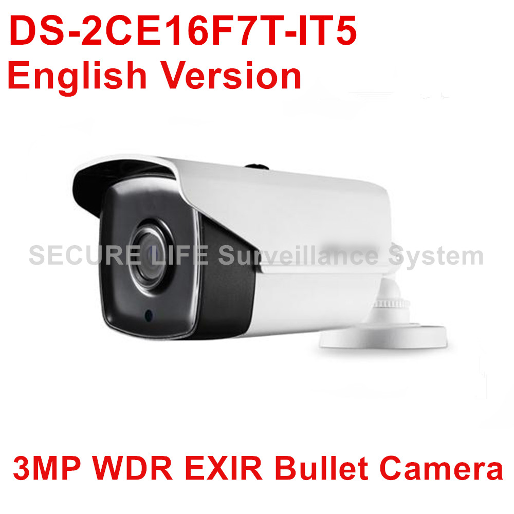 DS-2CE16F7T-IT5 English version 3MP Bullet turbo HD TVI Camera up to 80m IR IP66 120dB WDR up to coax cambridge young learners english flyers 5 answer booklet