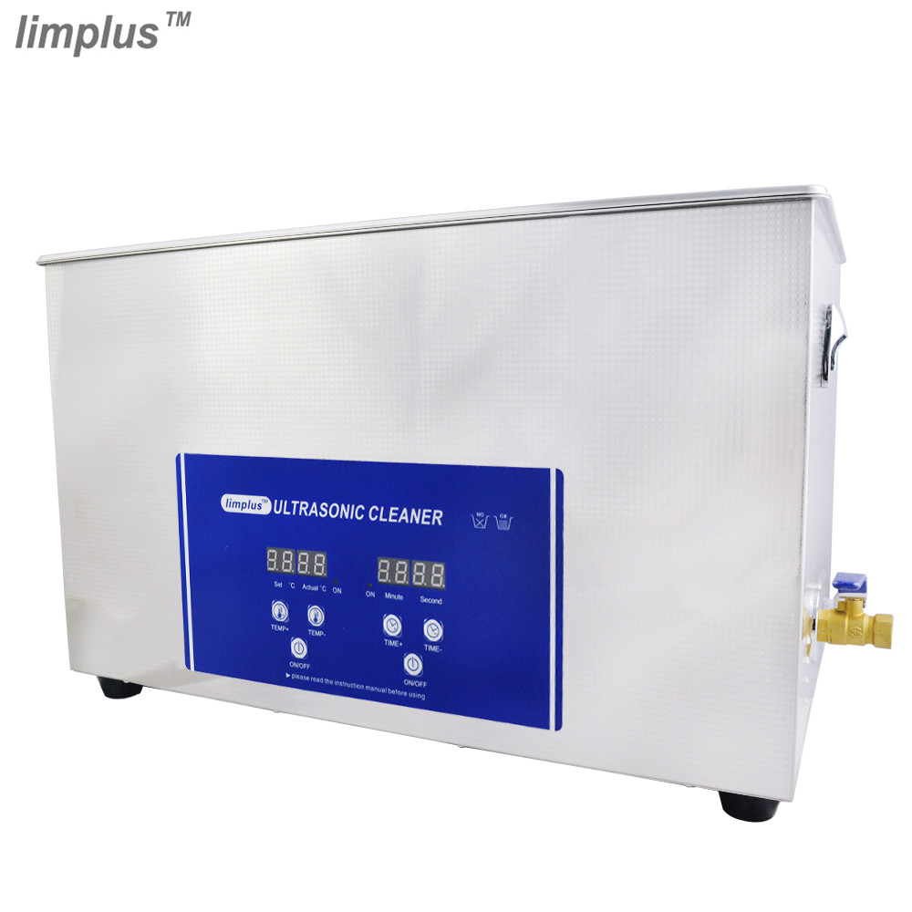 Industry Ultrasonic Cleaner Digital 30L Intelligent Control Cleaning Machine Wash Gun Golf Club Circuit Board PCB Free Shipping free dhl 1pc digital ultrasonic cleaner for industry specific cleaning with degas function with dual frequency power gt 1730qts