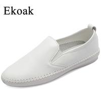Ekoak Size 34 43 New 2017 Classic Women Casual Shoes Spring Autumn Women Flats Shoes Fashion