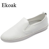 Ekoak Size 34 43 New 2017 Classic Women Casual Shoes Spring Autumn Women Flats Shoes Fashion