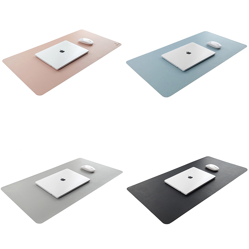 Large Mouse Pad 90 45CM XL Desk Mat For Computer PC Locking Edge Natural Rubber Office