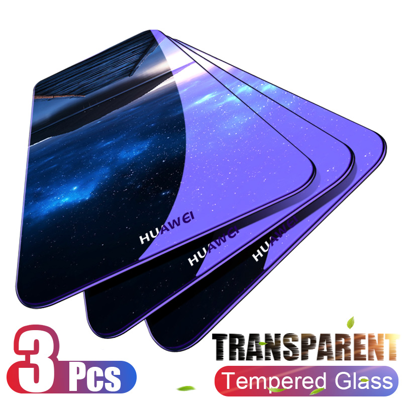 Moopok 1-3PCS Tempered Glass For Huawei P30 P20 P10 Lite Screen Protector Film For Honor 9 10 Lite Huawei P30 Protective Glass