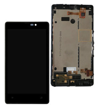 STARDE Replacement LCD For Nokia Lumia 820 LCD Display Touch Screen Digitizer Assembly Frame 4.3