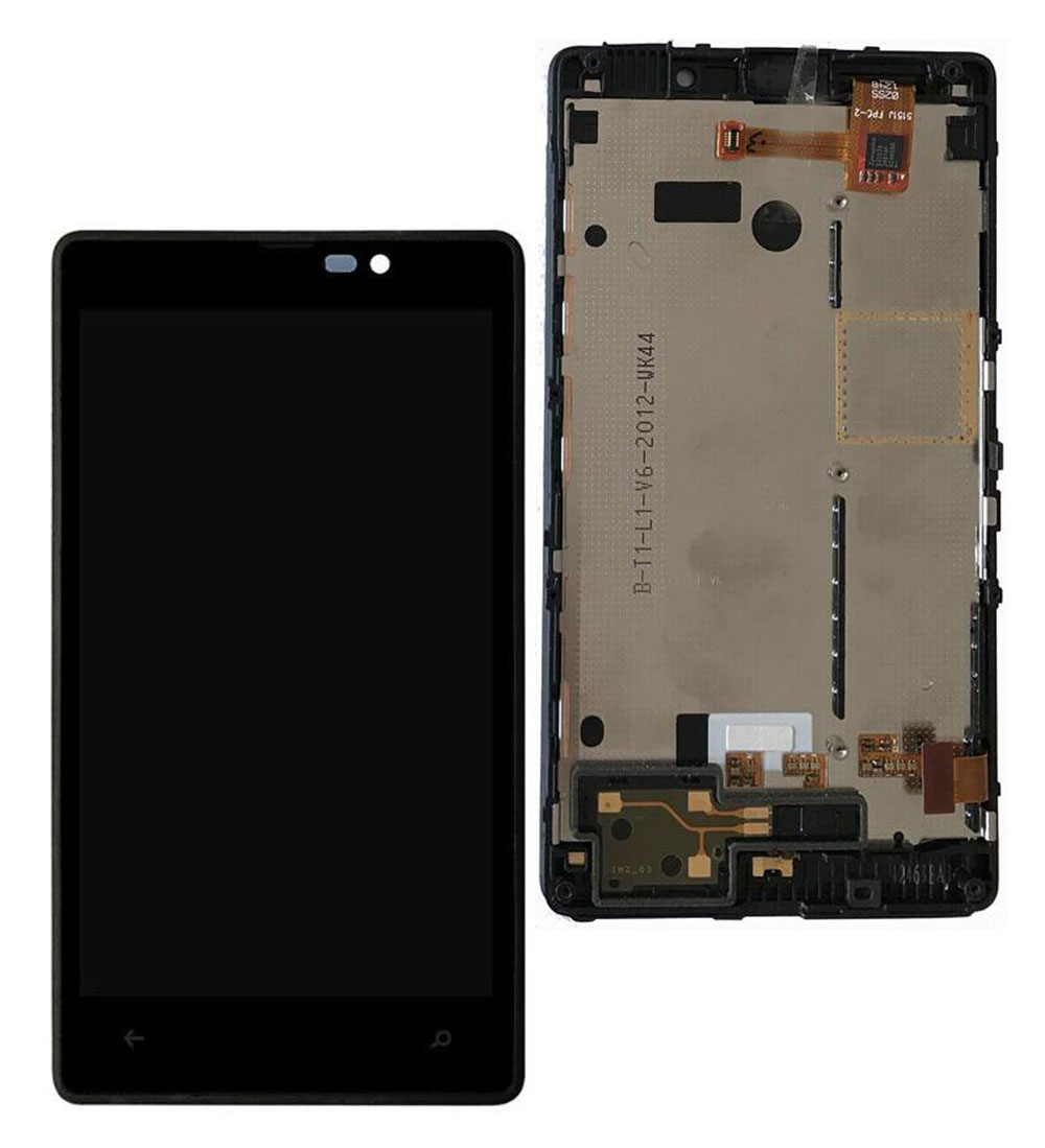 STARDE Replacement LCD For Nokia <font><b>Lumia</b></font> <font><b>820</b></font> LCD Display Touch <font><b>Screen</b></font> Digitizer Assembly Frame 4.3